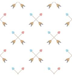 Arrow icon cartoon pattern gay icon from the big vector