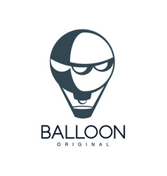 balloon original design element for corporate vector image