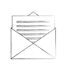 email envelope letter message communication vector image