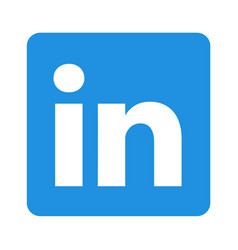 Linkedin logo icon image vector