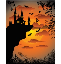 Scary Background vector image