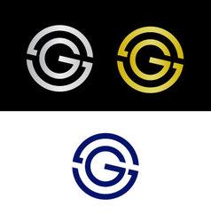 SG initials vector