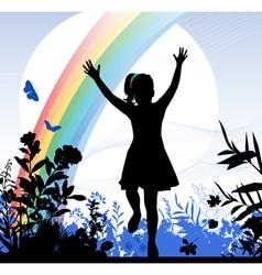Childhood vector image vector image