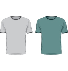 Mens t shirts design template vector image vector image
