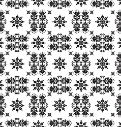 Abstract ethnic seamless floral pattern design vector