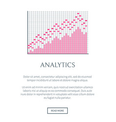 Analytics web site and text vector