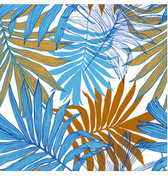art in golden retro colors vector image