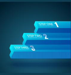 Business abstract web template vector
