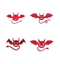 devil horn icon vector image