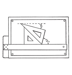 drawing lines at an angle 15 and 75 pair of set vector image