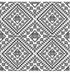ethnic tribal style ancient greek seamless pattern vector image