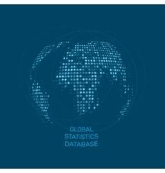 Global statistics database unusual dot vector