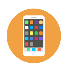 Icon smartphone vector