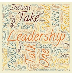 Instant Leadership Talks text background wordcloud vector