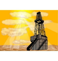 Natural gas drilling vector