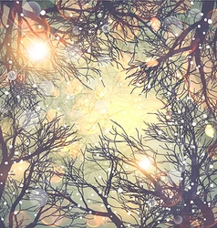 Romantic Winter Background vector