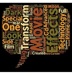 The Transformers Movie text background wordcloud vector