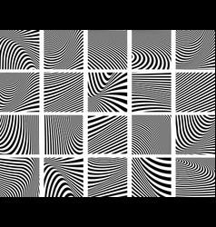 Lines textures vector