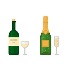alcohol champagne drinks beverages cocktail drink vector image vector image