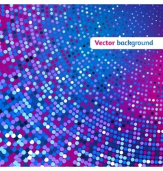 Disco glowing background vector image vector image