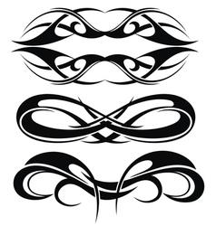 Maori tribal tattoo vector image vector image