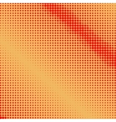 Red Dots on Orange Background vector image vector image