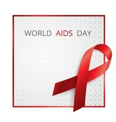 Aids Awareness World Day concept vector