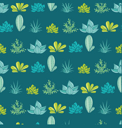 dark blue green stripes seamless repeat vector image