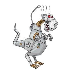 Dinorobot vector