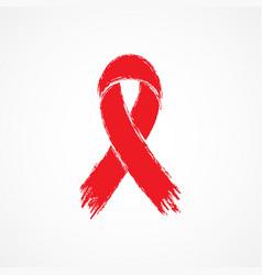 Ribbon aids symbol vector