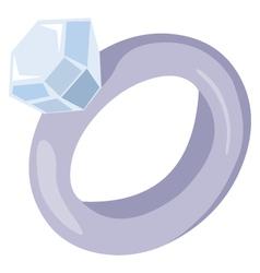 Ring wedding vector