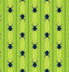 seamless spider pattern vector image