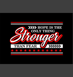 Slogan we are stronger when we are all together vector