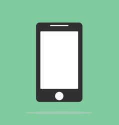 smartphone icon in the style flat design on the vector image