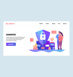 Web site design template family budget and vector