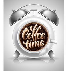 Coffee Time Concept vector image vector image