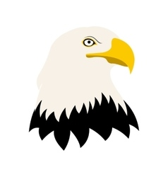 Bald eagle icon vector image