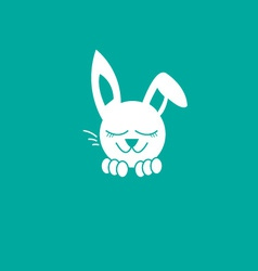 Bunny Dreaming vector image
