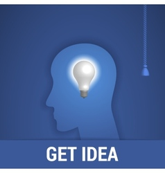 Get idea vector image