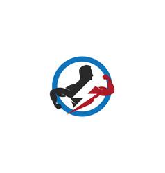 Gym logo vector