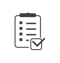 List icon vector