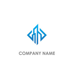 modern building business logo vector image