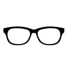 Photochromic spectacles icon simple style vector