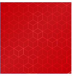 red square pattern vector image