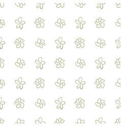 seamless flower background abstract hand drawn vector image