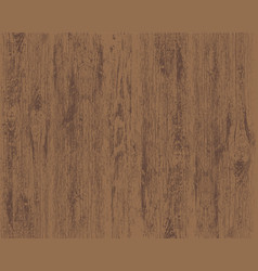 texture of brown wooden background vector image