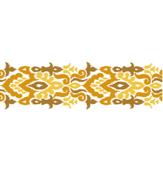 creative ethnic stripe seamless ornament vector image
