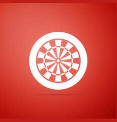 Darts board with twenty black and white sectors vector