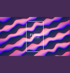 Fluid design abstract background vector
