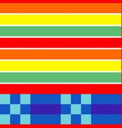 Geometrical seamless knitting scheme pattern vector
